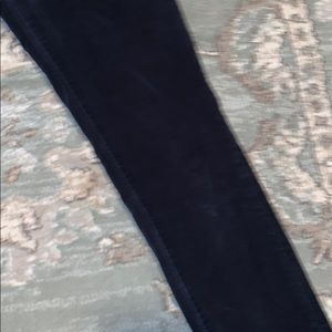 Pilcro and the Letterpress Pants - Pilcro and the Letterpress Blue Velvet Pants Sz 27